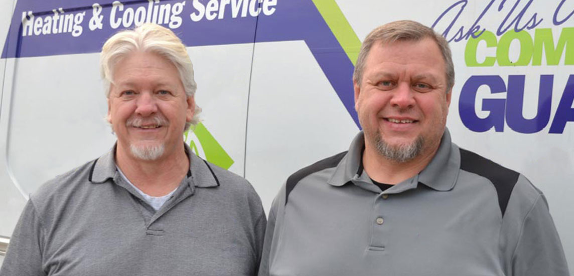 Hoosier Indoor Air owners, Jeff and Tom Rich