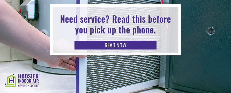 if you think you need heating and cooling service, check these things first